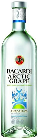 Bacardi Rum Arctic Grape